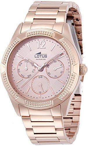 Lotus Damen-Armbanduhr Analog Quarz Edelstahl 159241