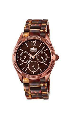 Lotus Damen-Armbanduhr Analog Quarz Plastik 159282