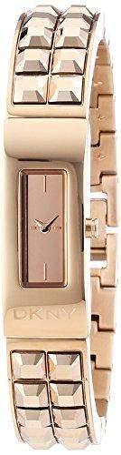 DKNY Damen-Armbanduhr Analog Quarz Edelstahl beschichtet NY2229