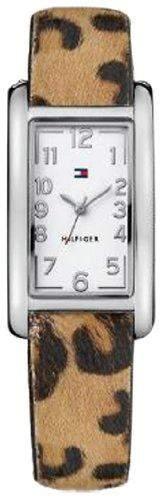 TOMMY HILFIGER Damen-Armbanduhr XS Analog Quarz Leder 1781111