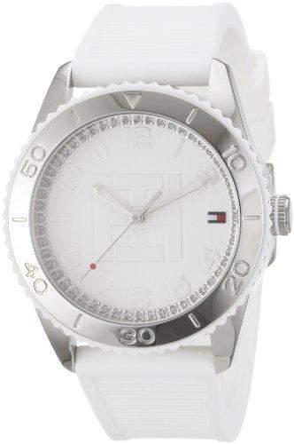 TOMMY HILFIGER Damen-Armbanduhr Analog Quarz Silikon 1781122