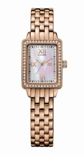 Tommy Hilfiger Damen-Armbanduhr Whinston Analog Gold 1781128