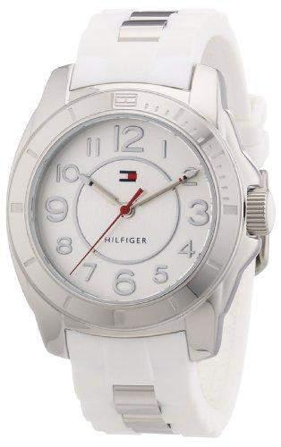 Tommy Hilfiger Watches Damen-Armbanduhr Analog Quarz verschiedene Materialien 1781306