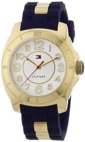 Tommy Hilfiger Watches Damen-Armbanduhr Analog Quarz verschiedene Materialien 1781307
