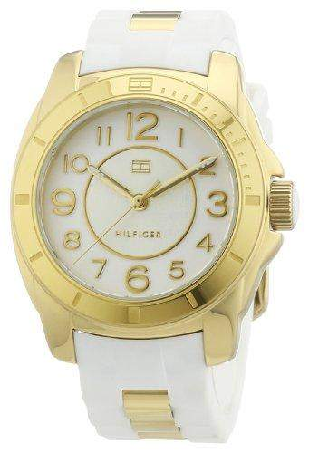 Tommy Hilfiger Watches Damen-Armbanduhr Analog Quarz verschiedene Materialien 1781309