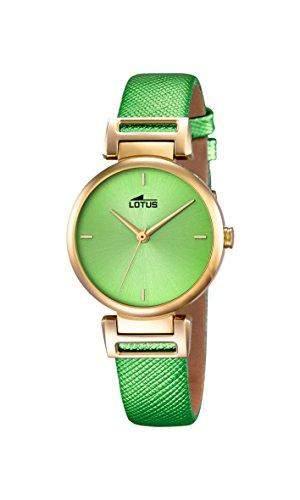 Lotus Damen-Armbanduhr Analog Quarz Leder 182281