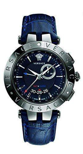 Versace 29G98D282 S282 V-Race GMT Alarm Kollektion uhren - Swiss Made - 46 mm