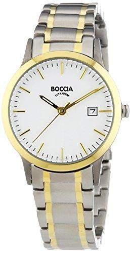 Boccia Damen-Armbanduhr XS Analog Quarz Titan 3180-04