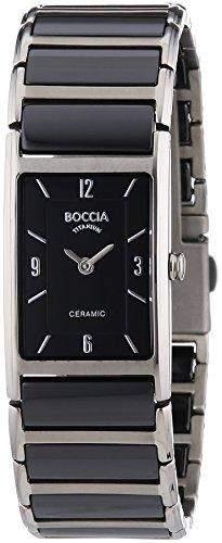 Boccia Damen-Armbanduhr XS Analog Quarz Keramik 3212-02