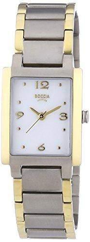 Boccia Damen-Armbanduhr XS Analog Quarz Titan 3220-02