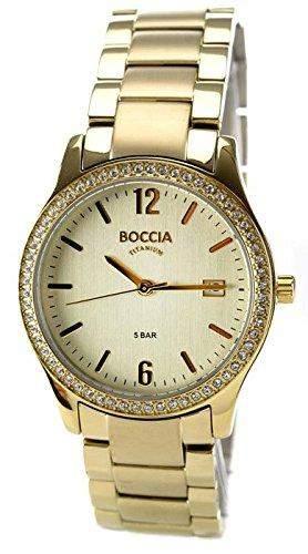 Boccia Damen-Armbanduhr XS Analog Quarz Titan 3235-03