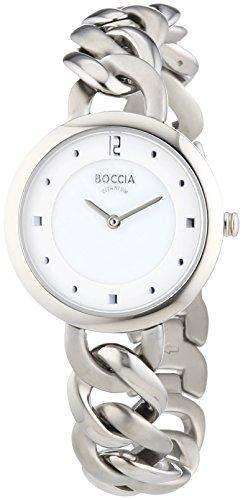 Boccia Damen-Armbanduhr XS Analog Quarz Titan 3242-01