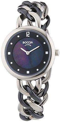 Boccia Damen-Armbanduhr XS Analog Quarz Titan 3242-02
