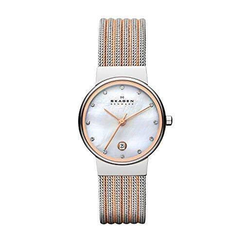 Damen-Armbanduhr Skagen 355SSRS