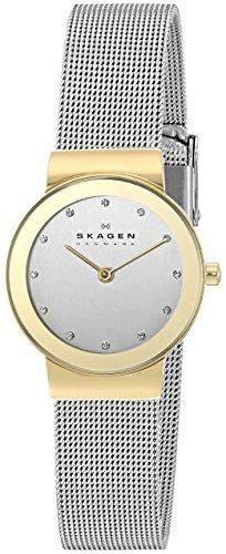 Skagen Damen-Armbanduhr Analog Quarz Edelstahl 358SGSCD