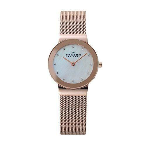 Damen-Armbanduhr Skagen 358SRRD