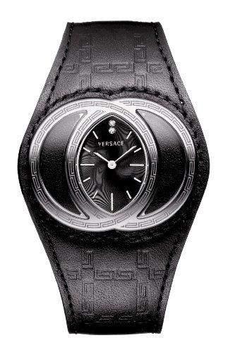 Versace Damen-Armbanduhr Analog Edelstahl weiss 84Q99SD009 S009
