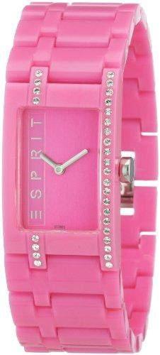 Esprit Damen-Armbanduhr houston funky star pink Analog Quarz AES103562002