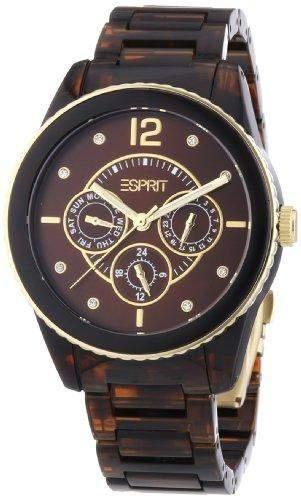 Esprit Damen-Armbanduhr XL marin Analog Plastik AES105102004