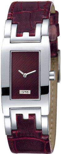 Esprit Damenuhr pure E-ffect double brown AES302242025