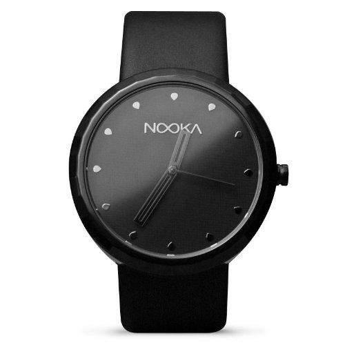 Nooka Unisex-Armbanduhr Analog Leder A06H22F