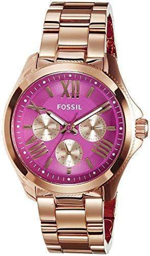 Fossil Damen-Armbanduhr Cecile Analog Quarz Edelstahl AM4549