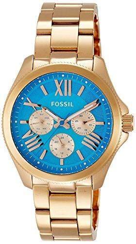 Fossil Damen-Armbanduhr Analog Quarz Edelstahl AM4556