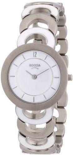 Boccia Damen-Armbanduhr Titan Style 3132-02