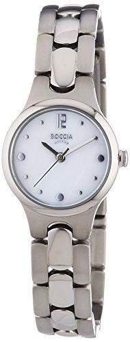 Boccia Damen-Armbanduhr XS Analog Quarz Titan 3222-01