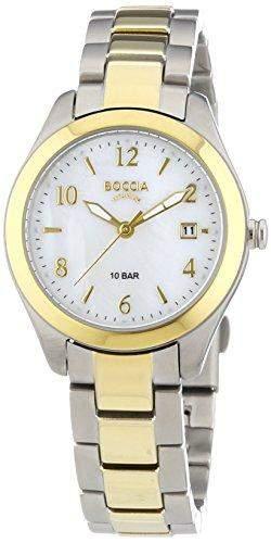 Boccia Damen-Armbanduhr XS Analog Quarz Titan 3224-02