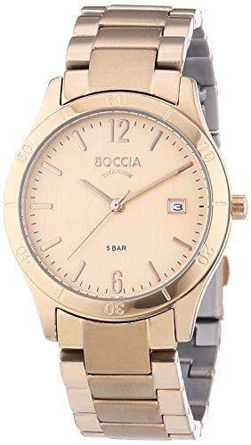 Boccia Damen-Armbanduhr XS Analog Quarz Titan 3234-02