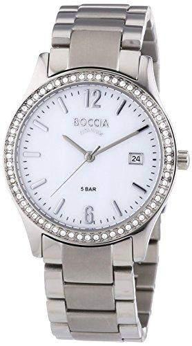 Boccia Damen-Armbanduhr XS Analog Quarz Titan 3235-02