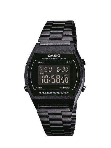 Casio Unisex-Armbanduhr Digital Quarz Edelstahl B640WB-1BEF