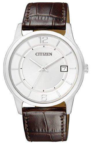 Citizen Damen-Armbanduhr Analog Quarz Leder BD0021-19A