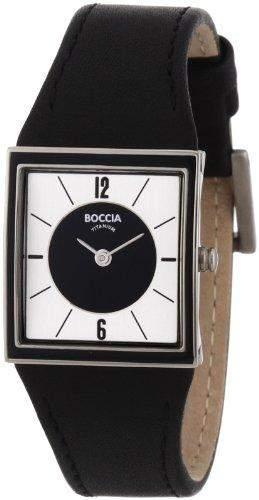 Boccia Damen-Armbanduhr Mit Lederarmband Trend 3148-04