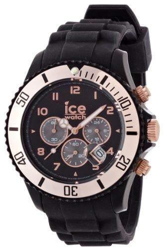 Ice-Watch Armbanduhr Chrono-Sili Big gold CHRGBS09