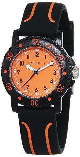 Esprit Unisex-Armbanduhr Diving Club Black Analog Quarz Plastik ES108334004