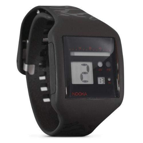 Nooka Unisex-Armbanduhr Edelstahl edelarosazubzoo