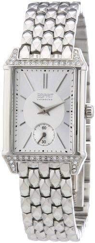 Esprit Damen-Armbanduhr Alke silver Analog Quarz Edelstahl EL101992F06