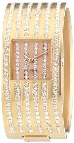 Esprit Damen-Armbanduhr Analog Quarz Edelstahl ES101182006