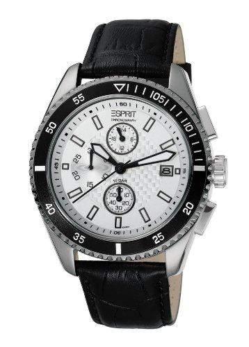 Esprit Damen-Armbanduhr Analog Quarz Leder ES102491002