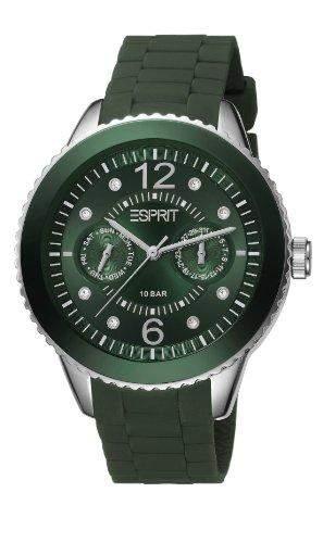 Esprit Damen-Armbanduhr Analog Quarz Silikon ES105332018