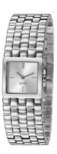 Esprit Damen-Armbanduhr lone Analog Quarz Edelstahl ES106102002