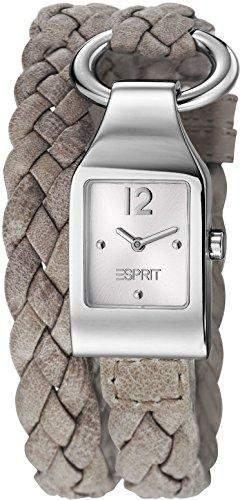 Esprit Damen-Armbanduhr buckle up Analog Quarz Leder ES106182002