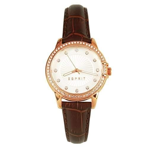 Esprit Damenuhr mit Lederband ES106992005 *UVP €129,90