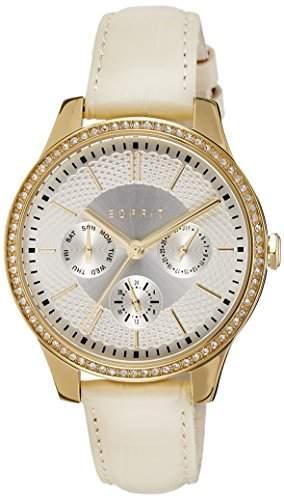 Esprit Damen-Armbanduhr Analog Quarz Leder ES107132003