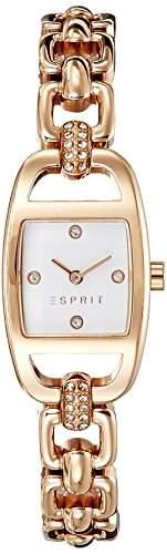 Esprit Damen-Armbanduhr Analog Quarz Edelstahl ES107182005