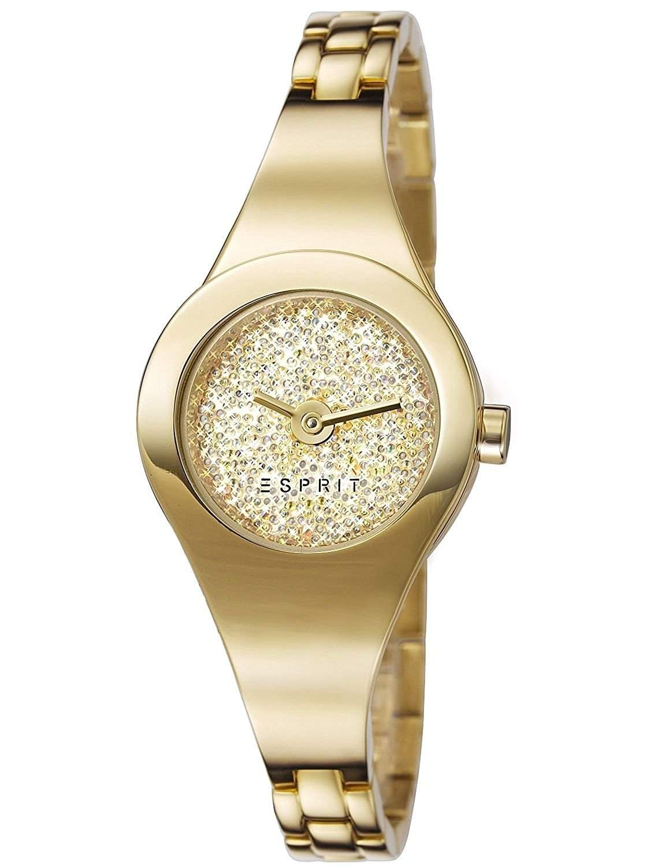 Esprit Damen-Armbanduhr XS Analog Quarz Edelstahl beschichtet ES107252002