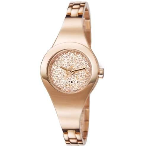 Esprit Damen-Armbanduhr XS Analog Quarz Edelstahl beschichtet ES107252003