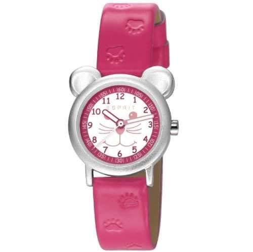 Esprit Unisex-Armbanduhr Analog Quarz Leder ES107624004